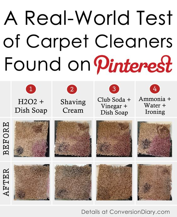 I Tested Four Top Do It Yourself Carpet Cleaning Recipes