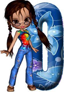 Alfabeto decorativo: Alfabeto - joven - PNG