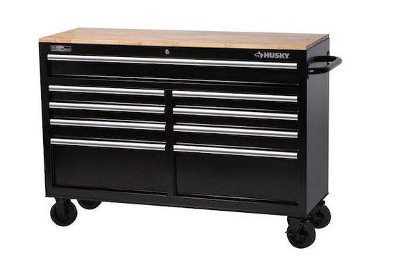 "#HomeDepotCanada: HomeDepot: Husky 52"" 9 Drawer Mobile Tool Workbench $239!!! 40% off! http://www.lavahotdeals.com/ca/cheap/homedepot-husky-52-9-drawer-mobile-tool-workbench/74086"