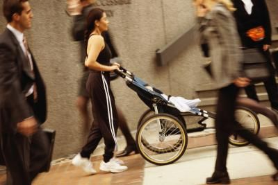 Calories Burned From Jogging Intervals With a Jogging Stroller