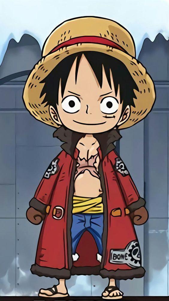 Luffy Onepiece การ ต น ต วละครจากการ ต น ภาพประกอบ