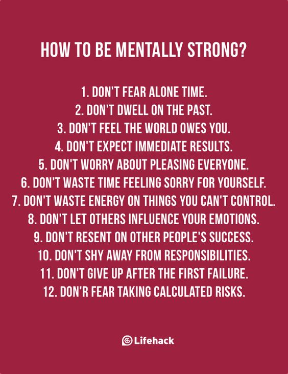 Being Mentally Strong Is Not About Armoring Yourself, But Building Your Internal Strength: