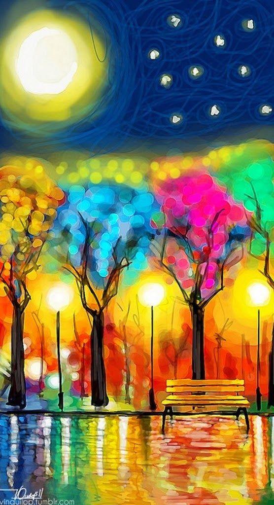 30 cuadros tr pticos pintados al leo pintura decorativa - Ver colores de pinturas ...