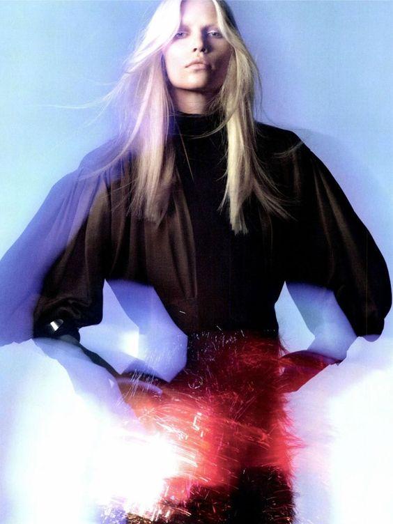 We love this shot of Aline Weber in Numero magazine!