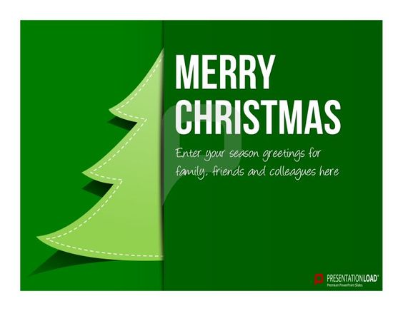 Christmas PowerPoint Template for free We wish you a Merry - christmas powerpoint template