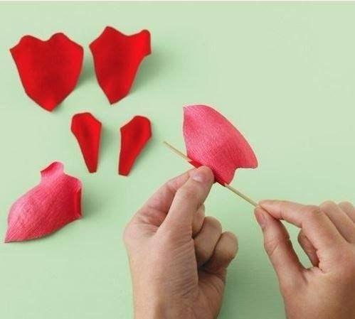 Moldes Para Hacer Rosas De Papel Crepe Paso A Paso Ideas De
