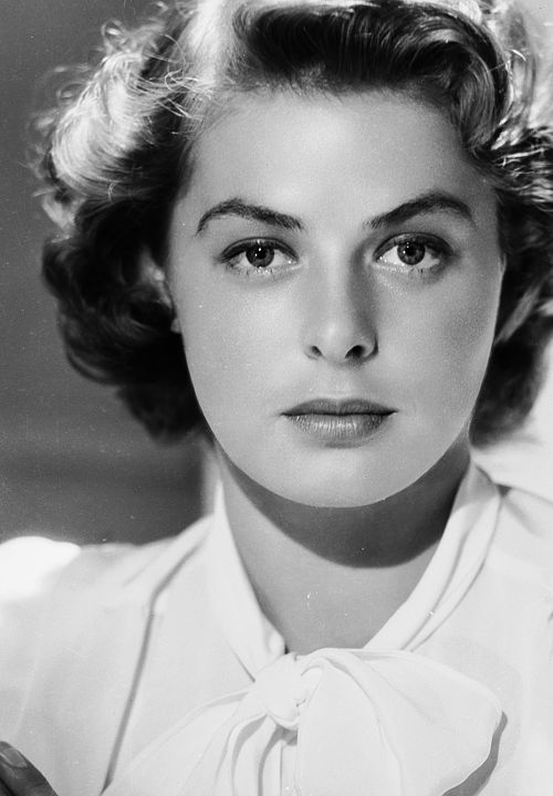 Ingrid Bergman, ca. 1942 One of my most favorite actresses of ALL time!