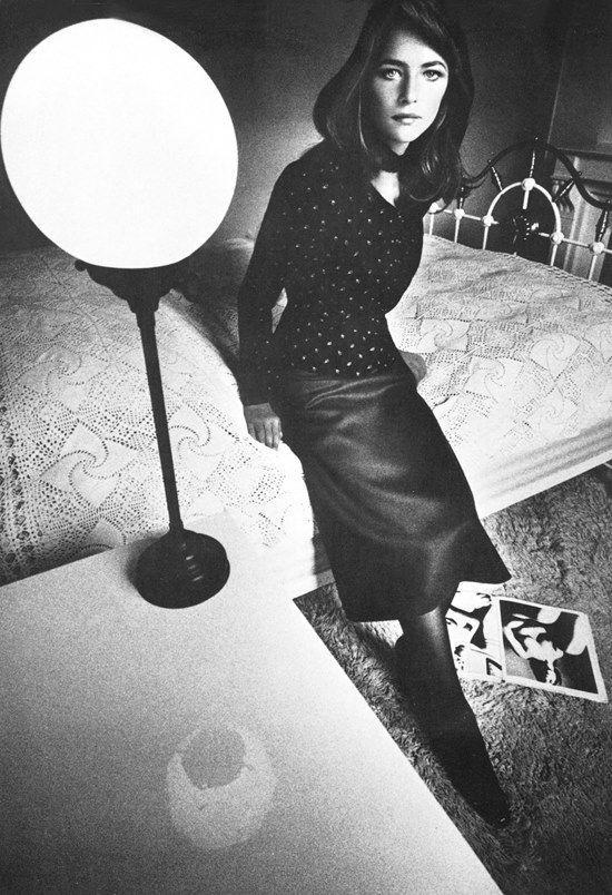 Charlotte Rampling. Jeanloup Sieff 1970