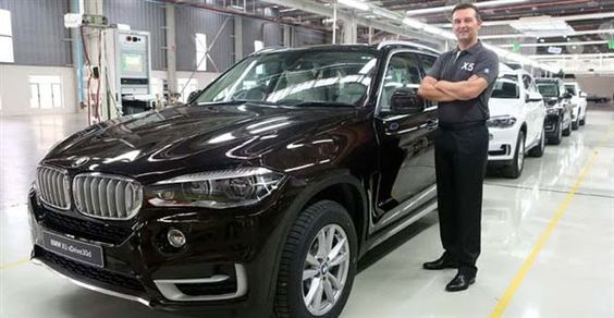 New Car Launches In India: BMW rolls out the locally assembled 2014 X5 from i...