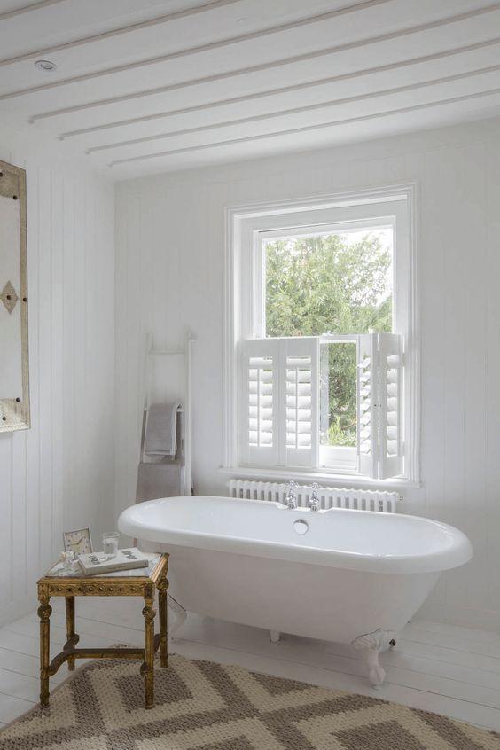 6x Raamdecoratie Voor De Badkamer Binnen Luiken Victoriaanse