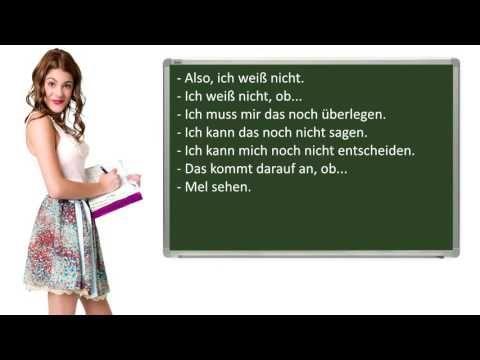 Gemeinsam Etwas Planen Wichtige Satze Auf Deutsch Mundliche Prufung B1 Youtube Mundliche Prufung Deutsch Youtube