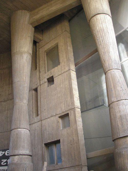 Edificio de la Cooperativa Eléctrica de Chillán, Juan Borchers/Isidro Suárez/Jesús Bermejo, 1962-65