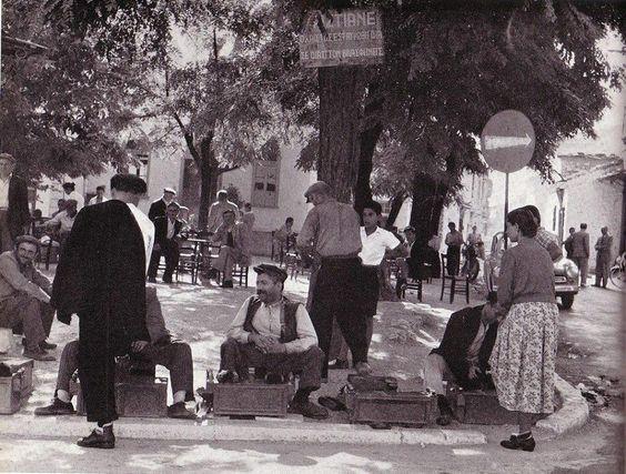 Σκηνή δρόμου στα Τρίκαλα το 1050
