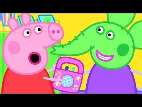 Peppa Pig Youtube Peppa Pig Elephant Day Alien Music