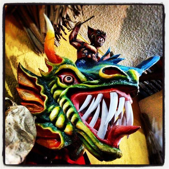 Máscara de diablico. Panamá.