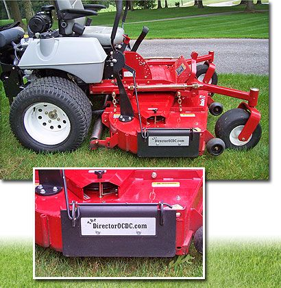 The Director Ocdc Is A Commercial Lawn Mower Accessory