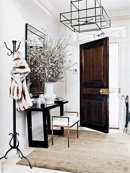 .: Entry Way, Entry Foyer, Entrance Hall, Light Fixture, Entryway, Coatrack