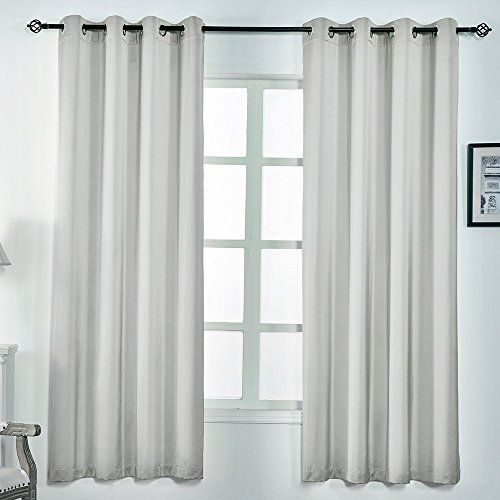 100 Polyester Curtains Size W52 L63 W52 L84 Colors Beige Burgundy Fresh Green Grey Lavender Light Grey Navy Curtains Silk Curtains Curtains Bedroom