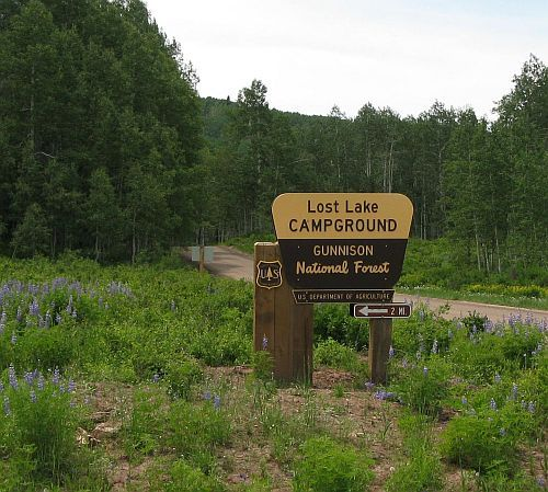 Camping Cabins National Forest Nm: Lost Lake Campground In The Heart Of The Worlds Largest