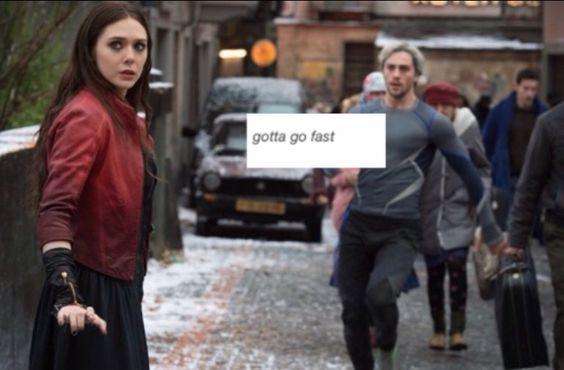 Gotta go fast gotta go sanic fast