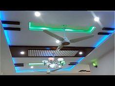 Youtube Falseceilinglivingroomfan Pop Ceiling Design Gypsum