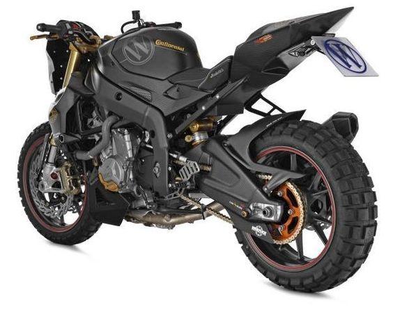 Motorrad Bild: Wunderlich Mad Max Stollen S 1000 RR