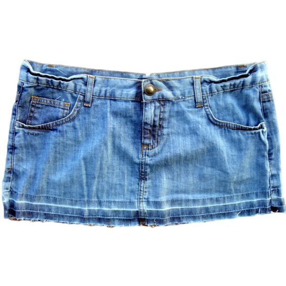 Denim Skirt Blue Jean Skirt Micro Mini Ripped Skirt Short Jean ...
