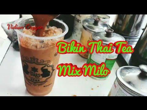 Resep Thai Tea Pakai Milo Youtube Minuman Resep Coklat