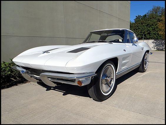 1963 Chevrolet Corvette Split Window Coupe.