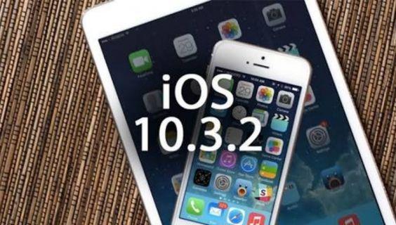 iOS 10.3.2 Çıktı!