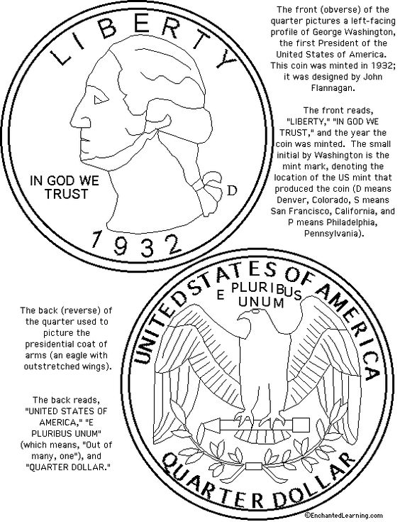 Printable Coloring Pages George Washington Real Money Downlload