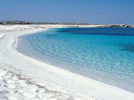 White Sand Beaches of Sardinia - Italy http://www.homeinitaly.com