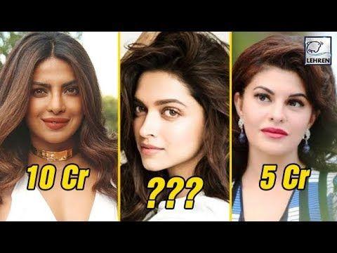 Deepika Padukone And Other Bollywood Actress Salary Bollywood Actress Bollywood Actresses