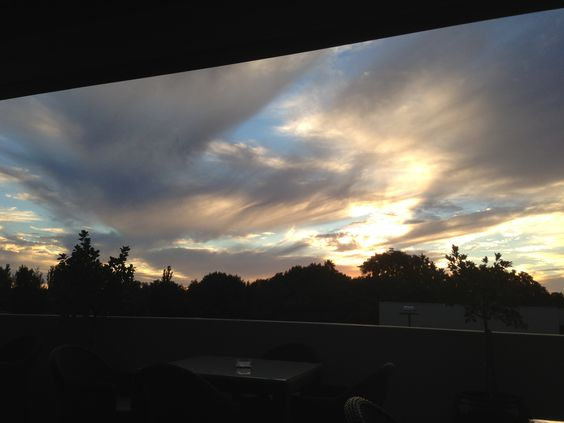 amazing sunset from Gunnedah NSW