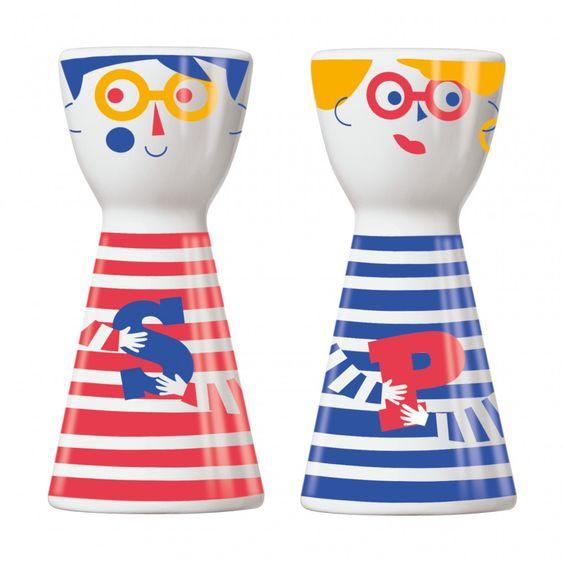 Mr. Salt & Mrs. Pepper Design Salz- und Pfefferstreuer, Julien Chung, Herbst…