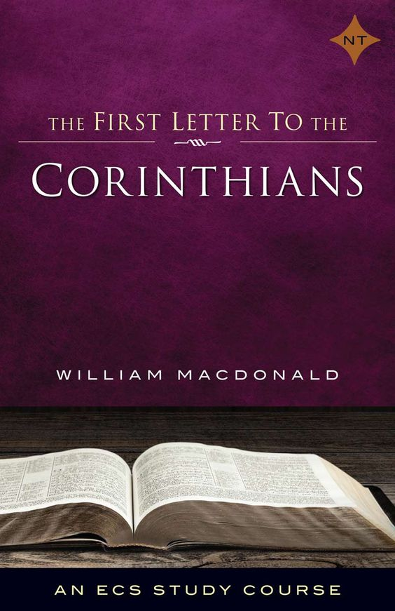 1 Corinthians, The First Letter to the Corinthians