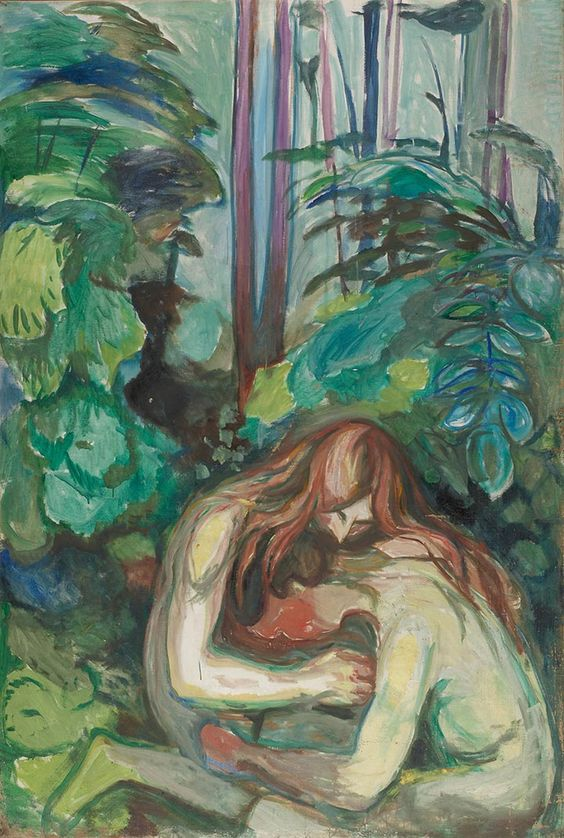 Vampire in the Forest, Late frieze of life, Munch's Ekely.