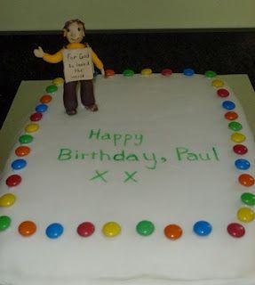 Happy birthday to our sandwich board man!