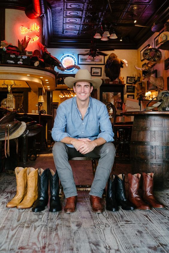 This cowboy boot enthusiast turned his hobby into a million dollar business. Check out his story here.