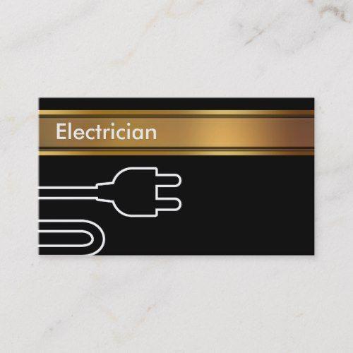 Electrician Business Cards Zazzle Com In 2020 Electrician Business Card Template Design Business Card Design