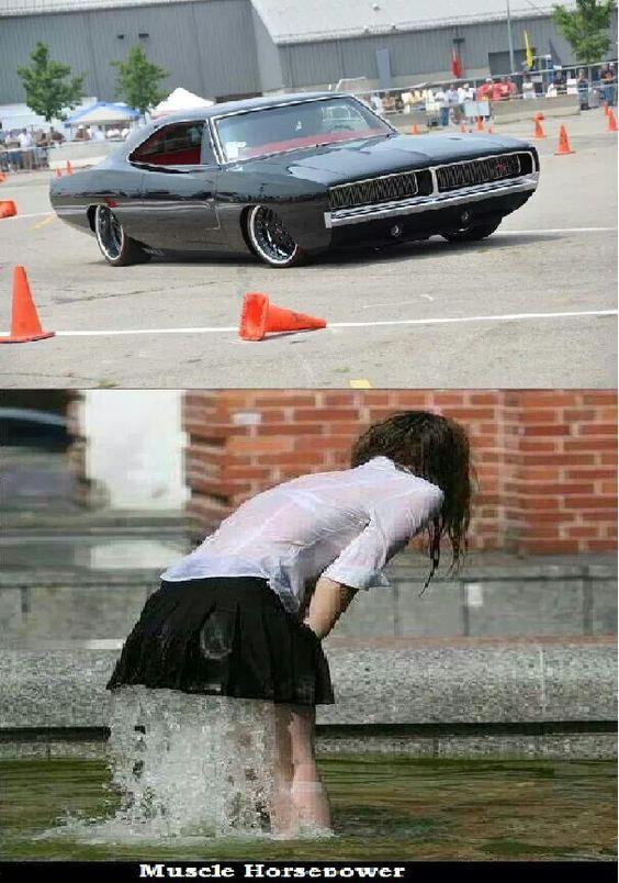 Hahaha...women love da muscle