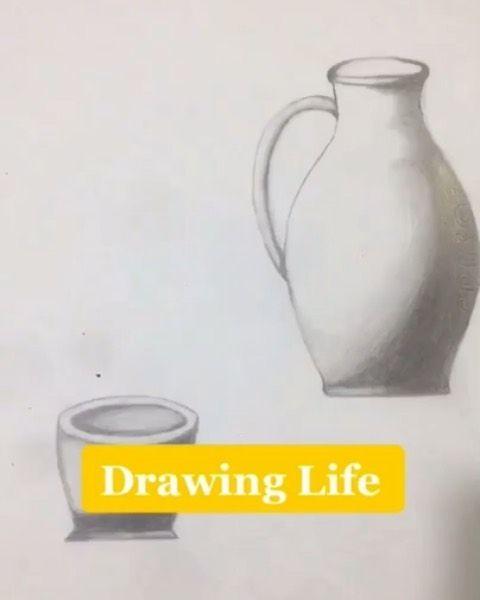 رسم فخار بالرصاص