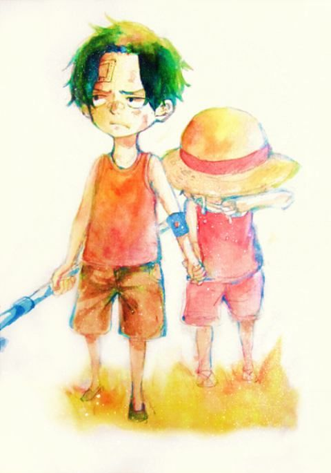 Ace, Luffy