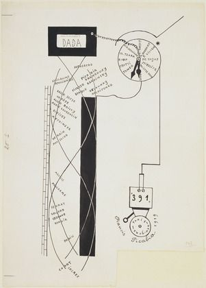 Francis Picabia for Tristan Tzara's 391