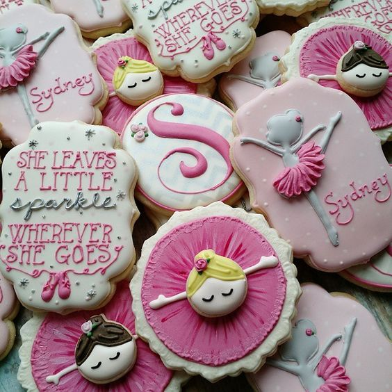 Ballerina Cookie // love bug cookies