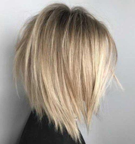 Neck Length Layered Bob Haircut 2018 Latest Bob Haircuts For 2018 Hair Styles Thick Hair Styles Medium Bob Hairstyles
