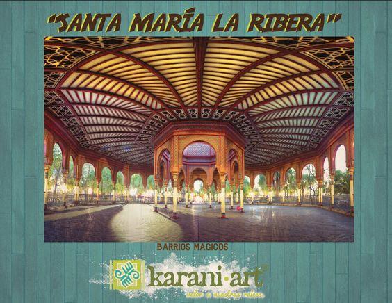#SantaMaríaLaRibera es una de las colonias más tradicionalistas y con mayores tesoros arquitectónicos e históricos de la capital del país. Se localiza en la Delegación Cuauhtémoc y está considerada como el primer fraccionamiento de corte moderno en la Ciudad de México.