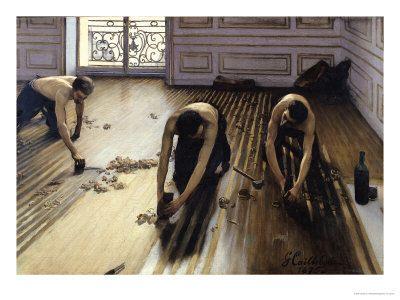 Los cepilladores de parqué 1875