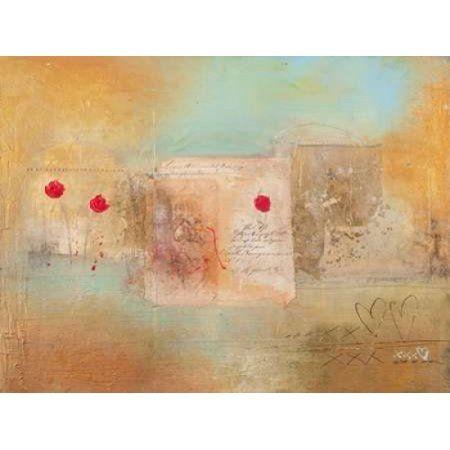 Roses for You Canvas Art - Charaka Simoncelli (22 x 28)