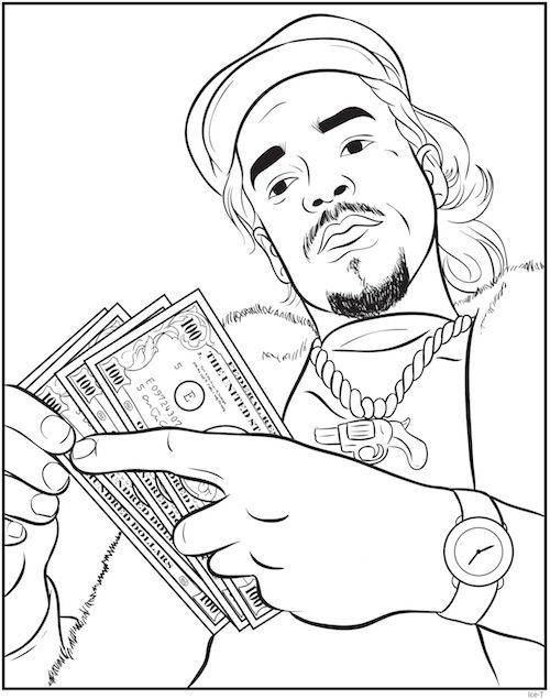 Rap Coloring Book An Interview With Creators Bun B Shea Serrano